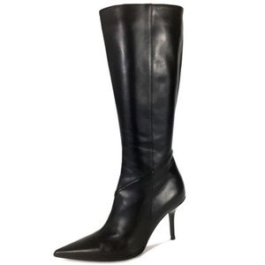 Christian dior Calf Pointy-toe Slim Heel Boots